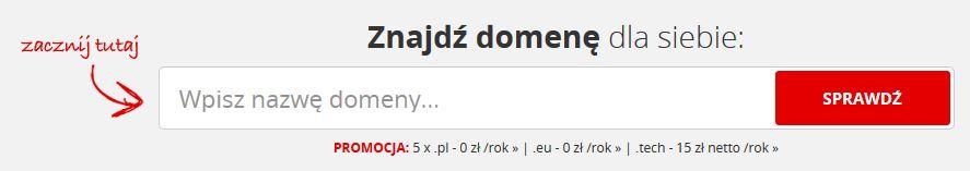 Panel wyszukiwania - Home.pl